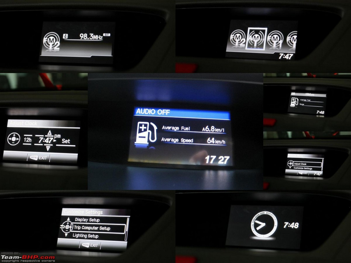 Honda Offers A Touchscreen Audio Video Navigation System (optional On The  Topmost Variant) Thatu0027s Nice To Use. It Even Provides Information On The  Nearest ...