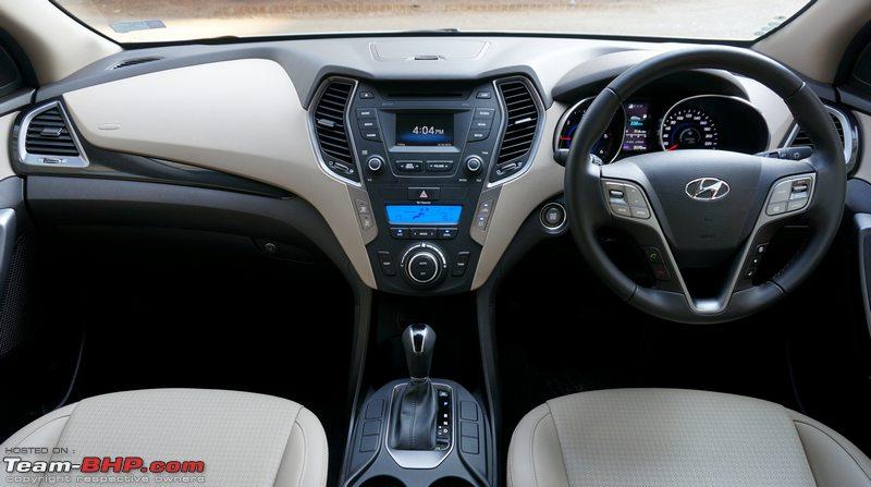 Hyundai Santa Fe Official Review Team Bhp