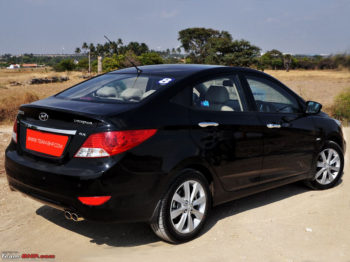 Review 2nd Gen Hyundai Verna 2011