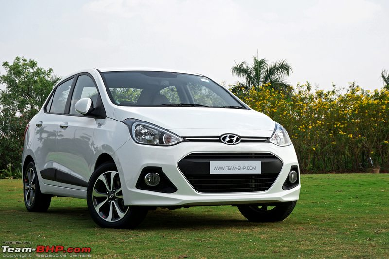 Hyundai Xcent Official Review Team Bhp