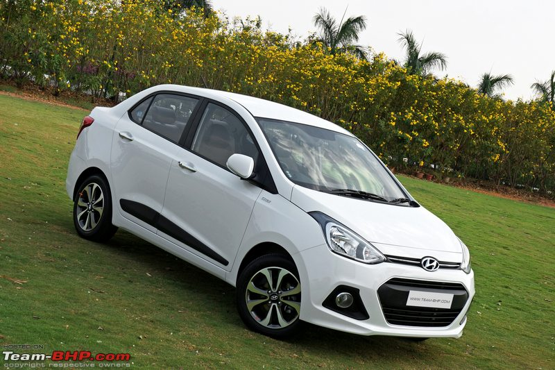 Hyundai xcent s o petrol initial ownership report for Hyundai xcent exterior