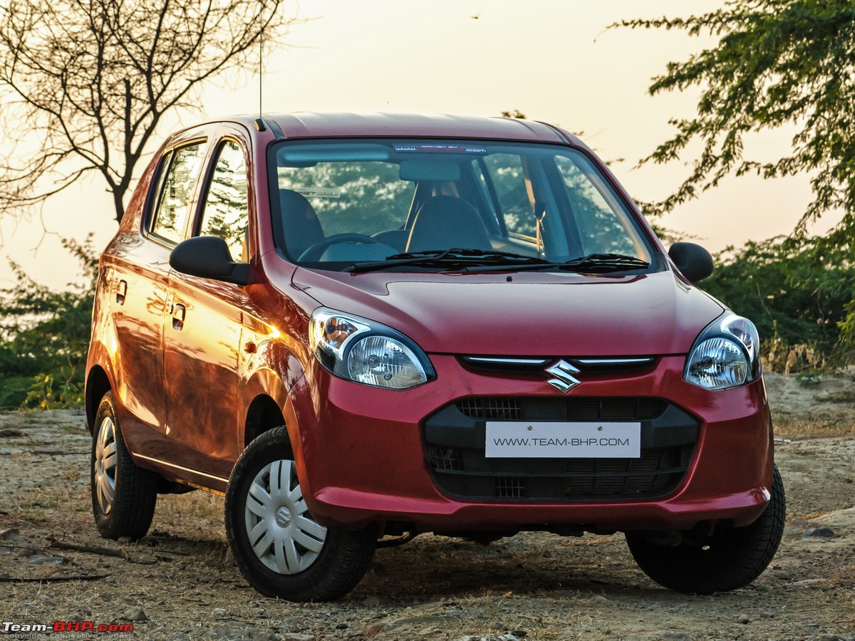 Image gallery alto 800 review for Maruti 800 exterior decoration