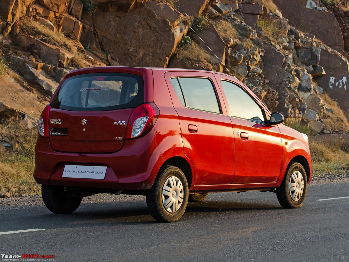 Maruti Alto 800 Official Review Team Bhp
