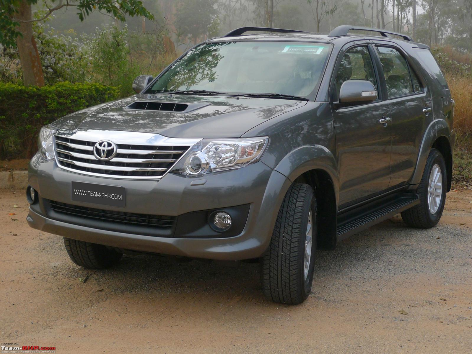 Review 2011 Toyota Fortuner 4x2 Mt Amp At Team Bhp