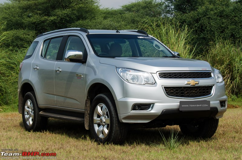 Chevrolet Trailblazer Official Review Team Bhp