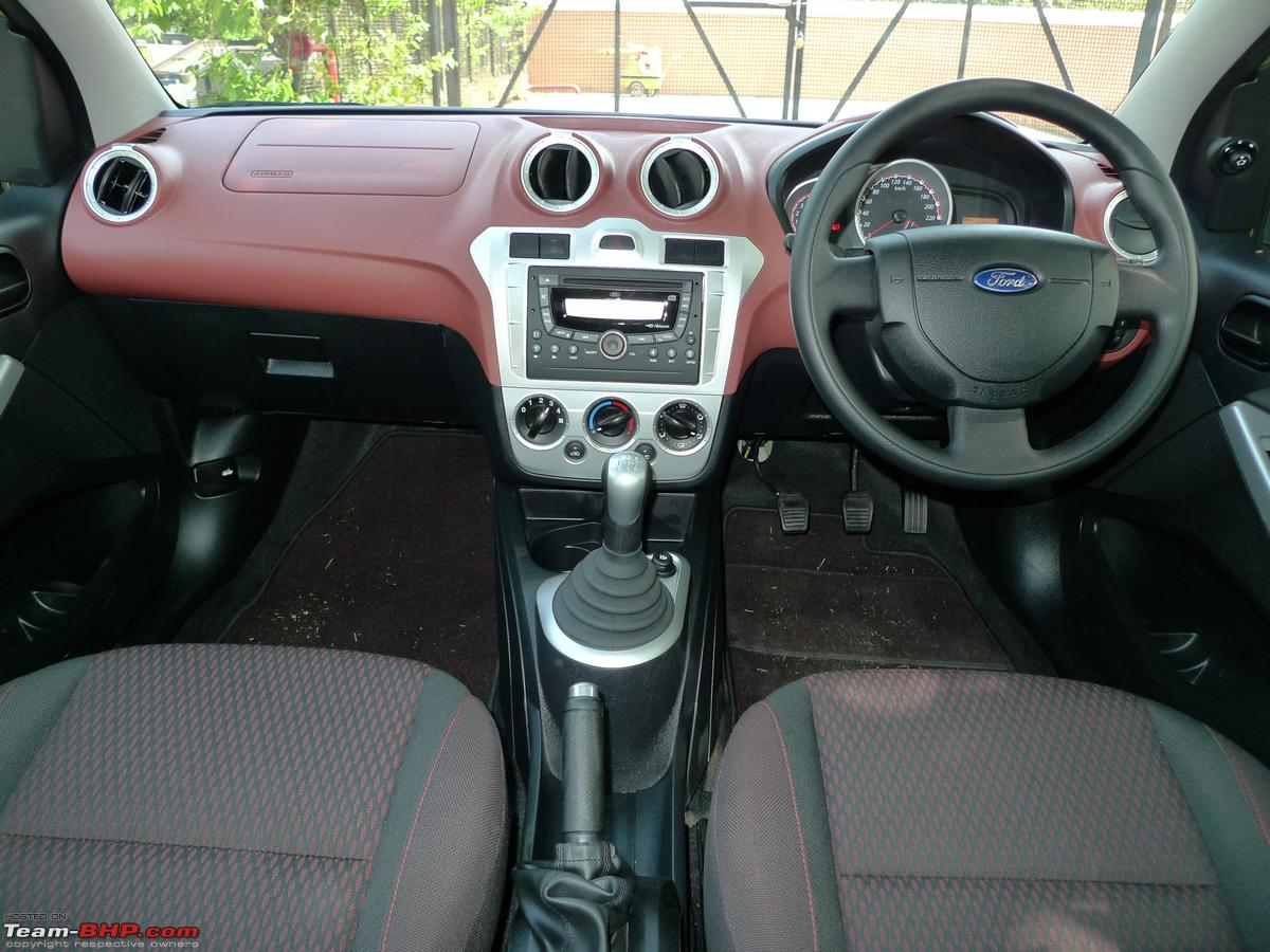 """You don't step into the Figo's interiors as you do with some of its taller  competitors. Rather, you sit """"down"""" (refer to my comment on the car's  height in ..."""