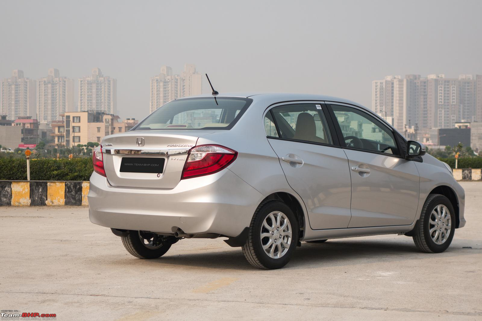 3 years into the life cycle is about the right time for a facelift the amaze is an important car for honda and its no 2 product in india city is no 1