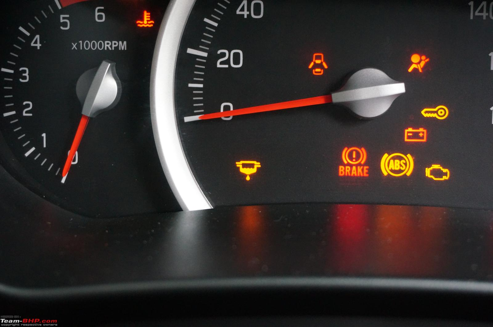 Maruti Celerio Diesel Official Review Team Bhp Opel Corsa Ignition Wiring Diagram That Yellow Sign Image Center Warns You If There Is Water In The Filter