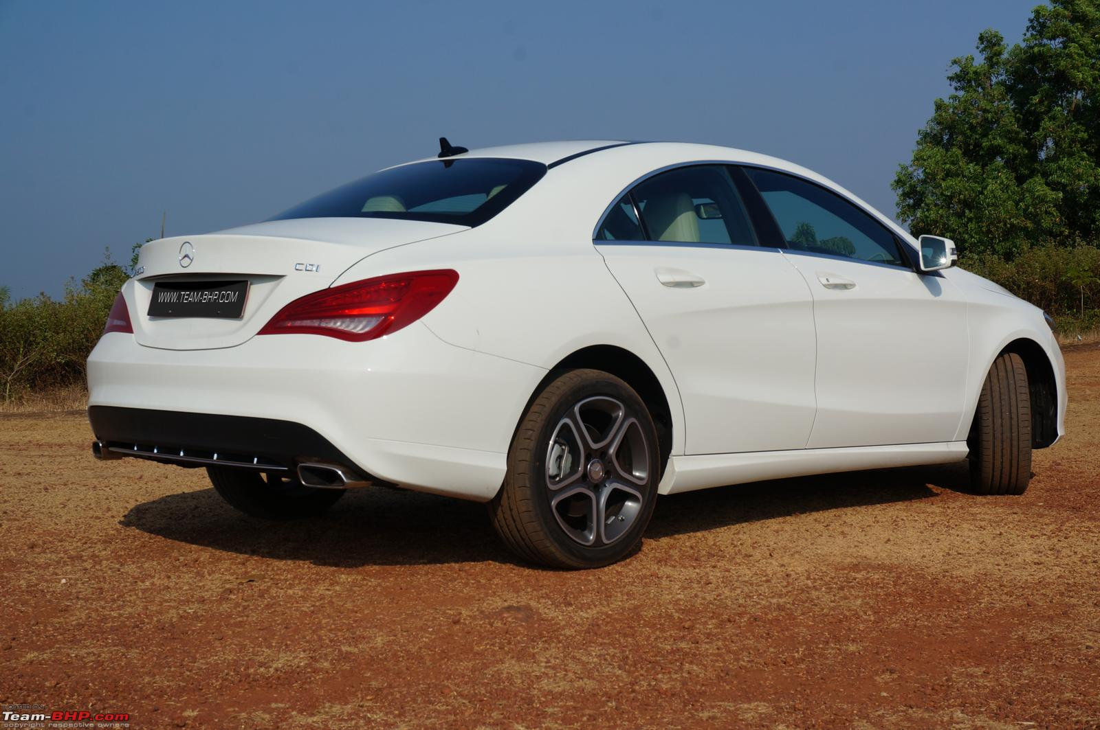 Mercedes cla class official review team bhp for Mercedes benz cla 200 price