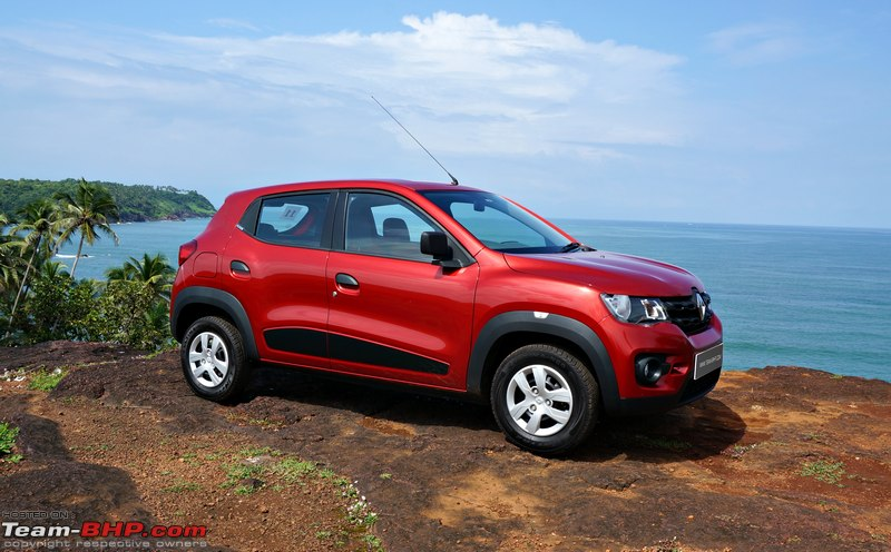 Renault Kwid Official Review Team Bhp