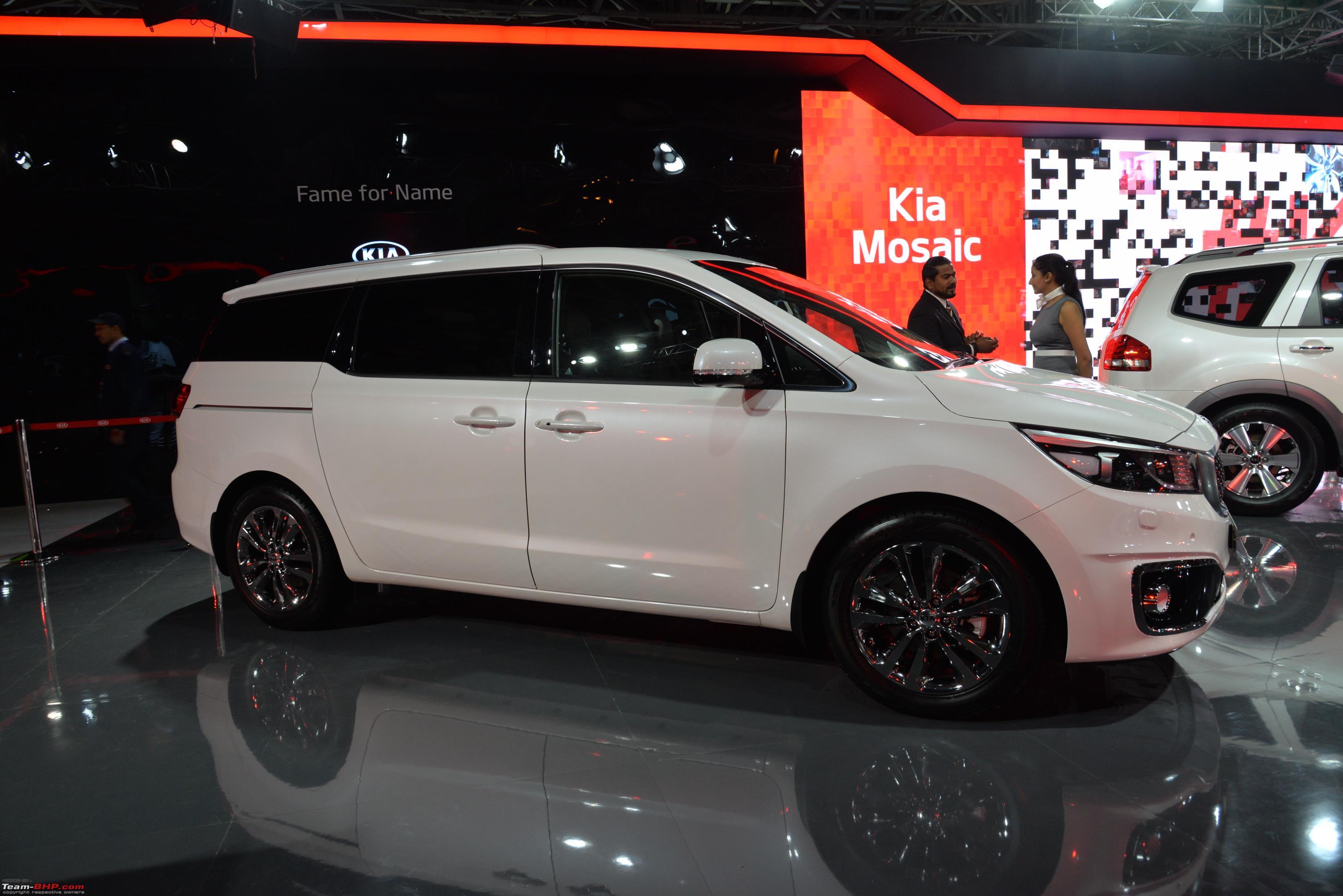 Kia Motors @ Auto Expo 2018