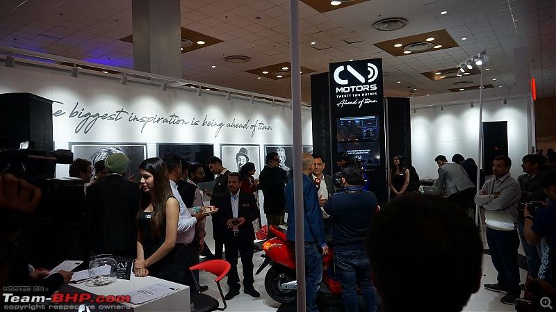 Twenty Two Motors Flow Electric Scooter @ Auto Expo 2018-1.jpg
