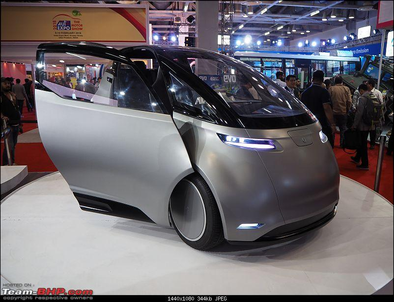 Uniti One Electric Cars @ Auto Expo 2018-1.jpg