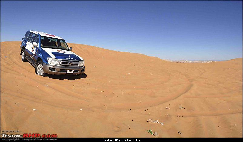 Advanced Desert Driving Course in Dubai, UAE - A Report-lunch-parked-1.jpeg