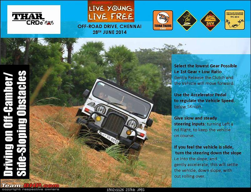 Mahindra 'Live Young, Live Free' Offroad Drive. Chennai on 28th June 2014-picture05.jpg