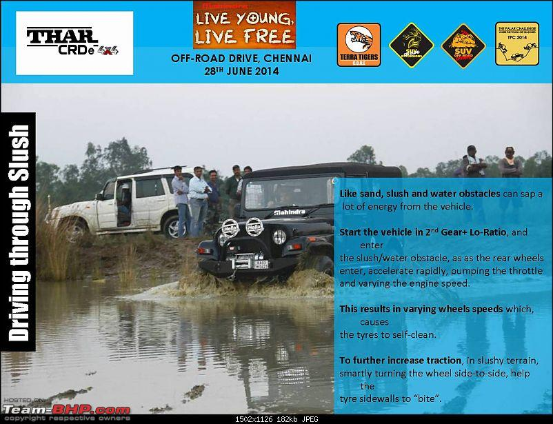 Mahindra 'Live Young, Live Free' Offroad Drive. Chennai on 28th June 2014-picture10.jpg