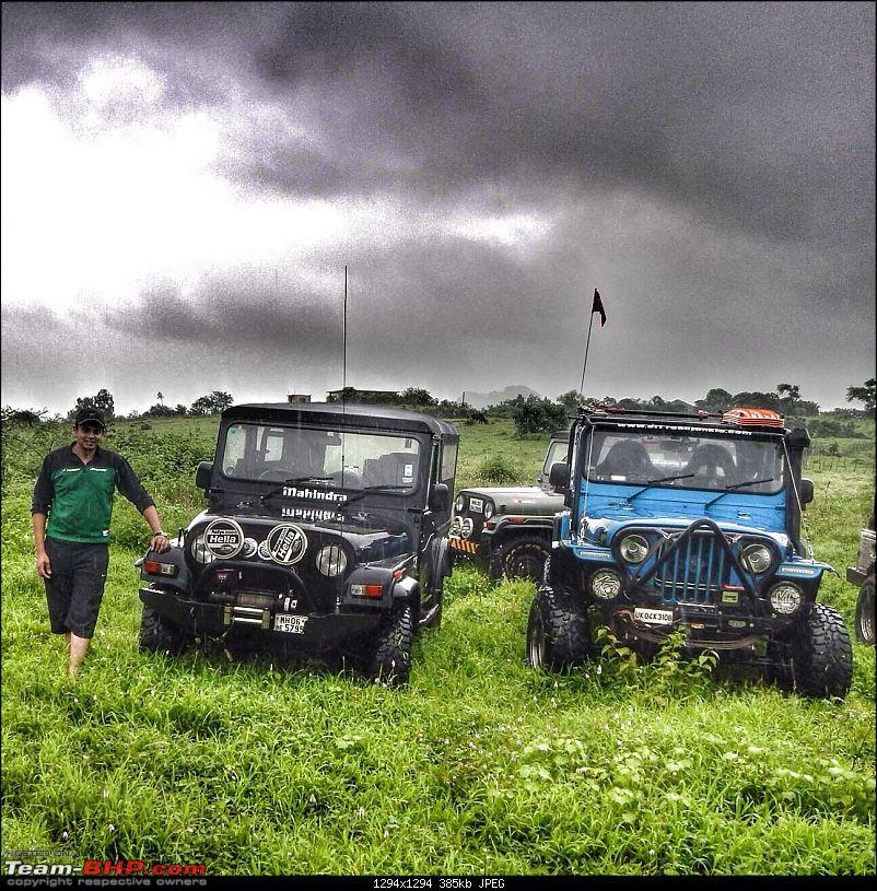 Sunday Offroad Excursion near Mumbai - 31st August 2014-pose-1.jpg