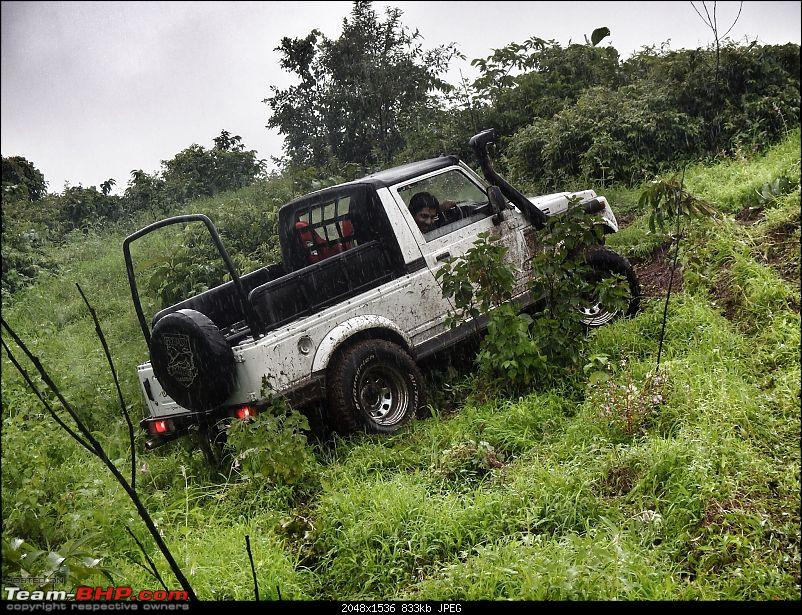 Sunday Offroad Excursion near Mumbai - 31st August 2014-amol-climb2.jpg