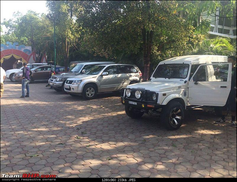 Mild Offroading with SUVs in Lonavala-parking-5.jpg
