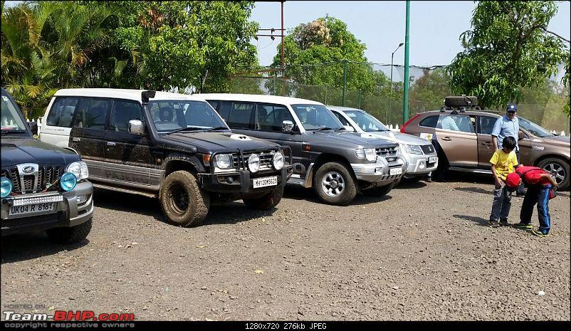 Mild Offroading with SUVs in Lonavala-cars-parked5.jpg