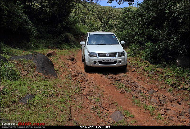 2 Grand Vitaras go offroading - At Panshet Lake-006-bad-road-childs-playcompressed.jpg