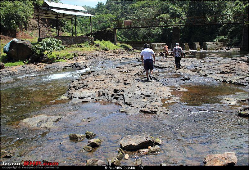 2 Grand Vitaras go offroading - At Panshet Lake-004-stream-recce-1compressed.jpg