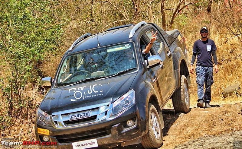 Isuzu V-Cross : Tame the Terrain event by Pune Pathfinders-16997996_1643299079309795_9029649698687531289_n.jpg