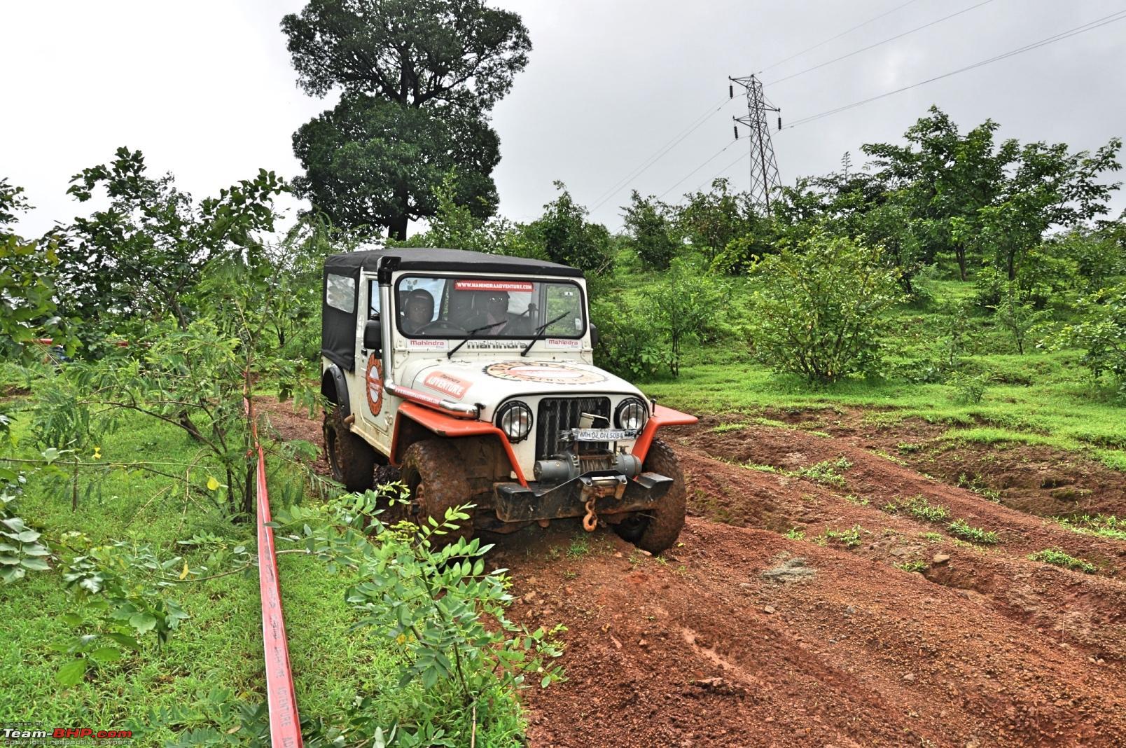 Off Roading  Mahindra Off Roading