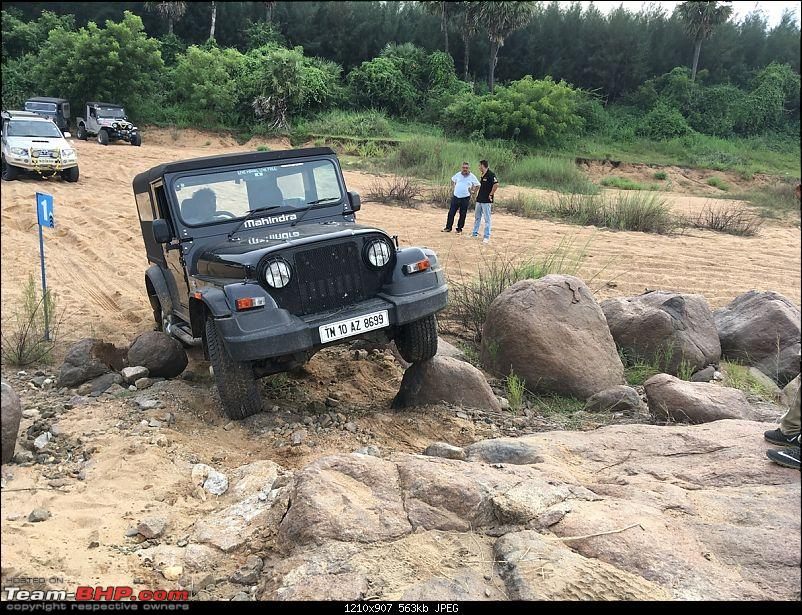 11th Palar Challenge - 4x4 Offroad Drive on 30th September, 2017-novice-thar-2.jpg