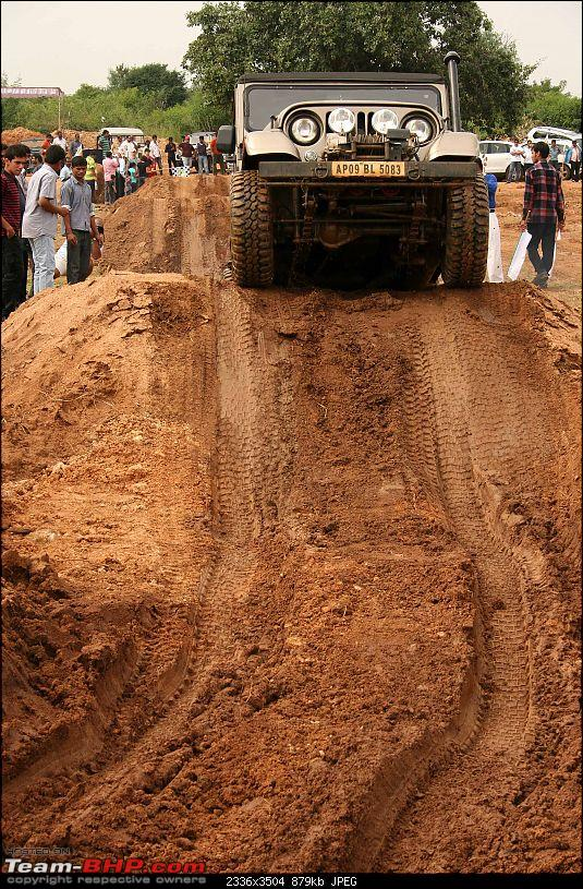 Hyderabad, Off Road Challenge 4X4's & 4X2's. On 24, Oct 2010.-img_9622.jpg