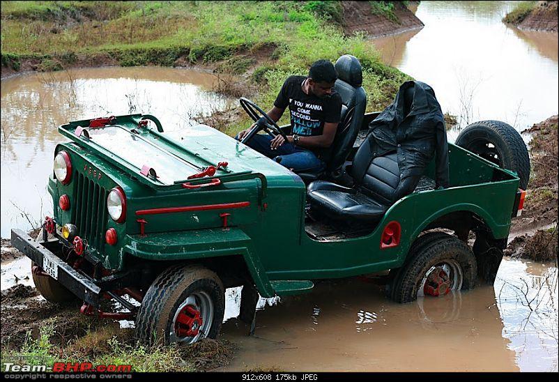 Mud Puddle @  Bidaraguppe Indlebele lake Rock Crawl Bagilure road & River fording too-img_8537.jpg