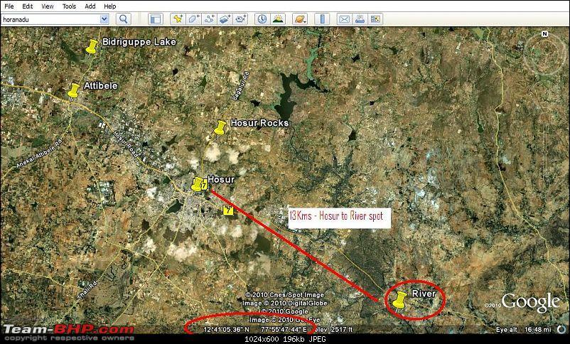 Mud Puddle @  Bidaraguppe Indlebele lake Rock Crawl Bagilure road & River fording too-.jpg