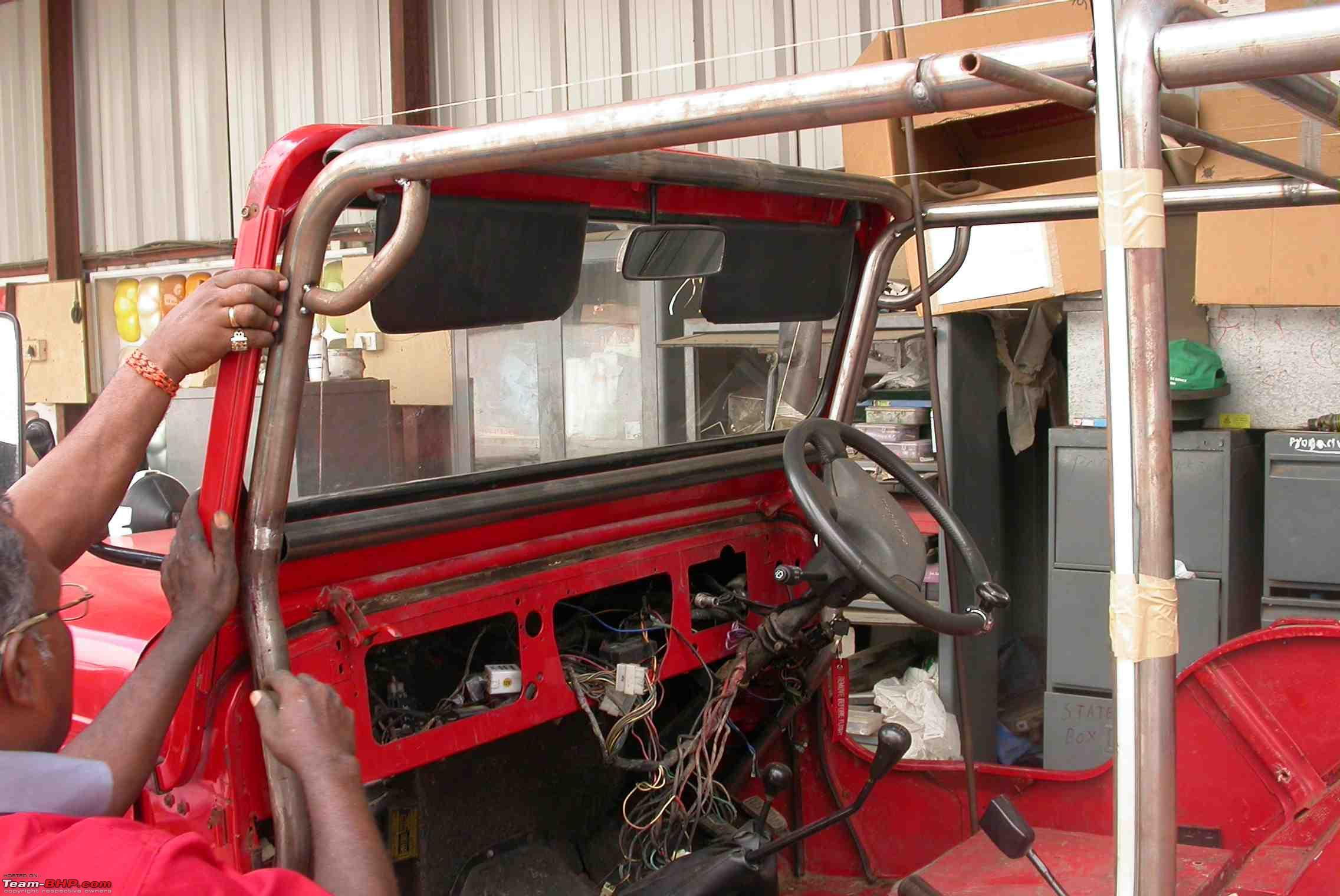 Exterior roll cage for a 4x4 page 4 team bhp - Jeep cherokee exterior roll cage ...