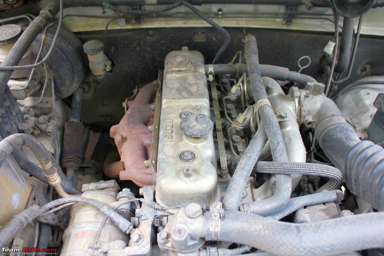Engine, Gearbox, Diff ratios, axles options for the JEEP