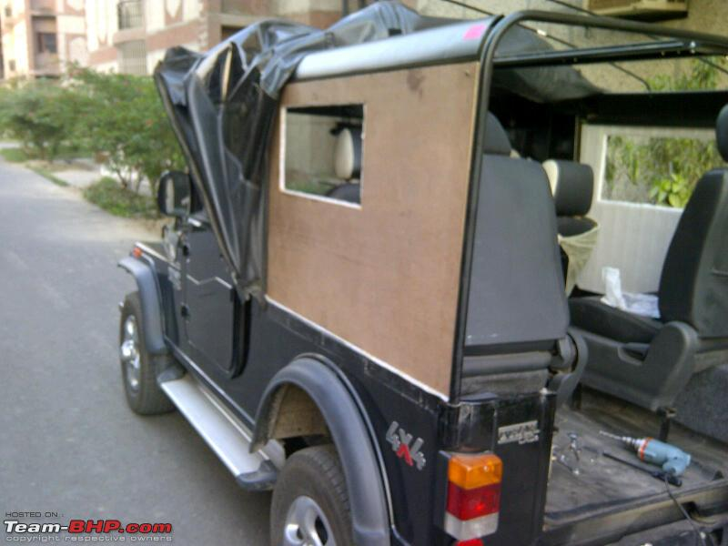 Advice On Fitting An Air Conditioner In The Mahindra Thar