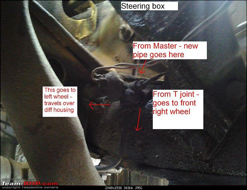 DIY - Simple Hand brake for Jeeps - Ball Valve as a Line Lock-t-joint.jpg