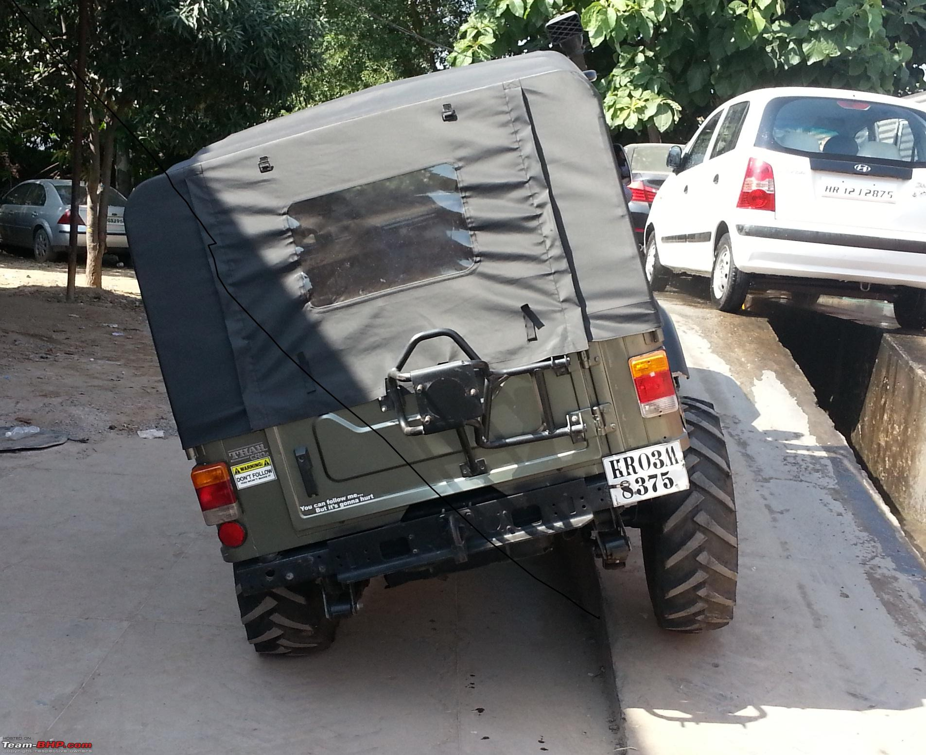 Mahindra 4x4 Front Axle : Mahindra thar converted independent front suspension