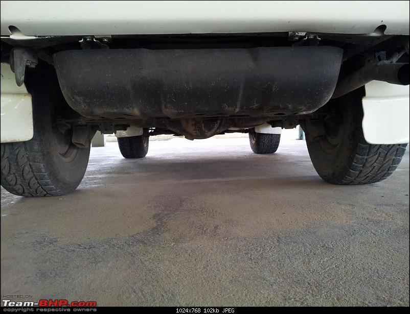 "1998 Toyota 90 Series SWB 3 Door Land Cruiser Prado. EDIT: Now with 2"" Ironman Lift-prado_fuel_tank.jpg"