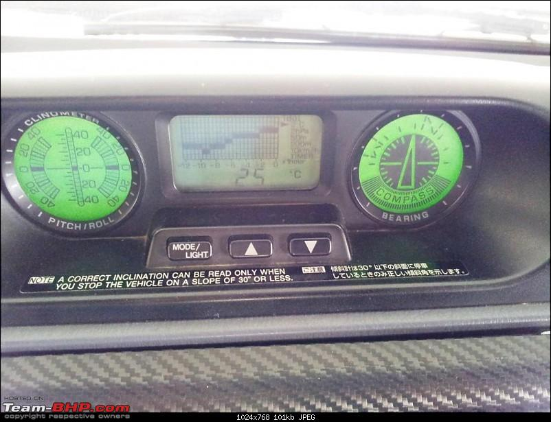"1998 Toyota 90 Series SWB 3 Door Land Cruiser Prado. EDIT: Now with 2"" Ironman Lift-prado_clinometer.jpg"