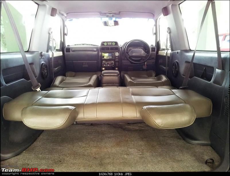 "1998 Toyota 90 Series SWB 3 Door Land Cruiser Prado. EDIT: Now with 2"" Ironman Lift-prado_all_seats_down.jpg"