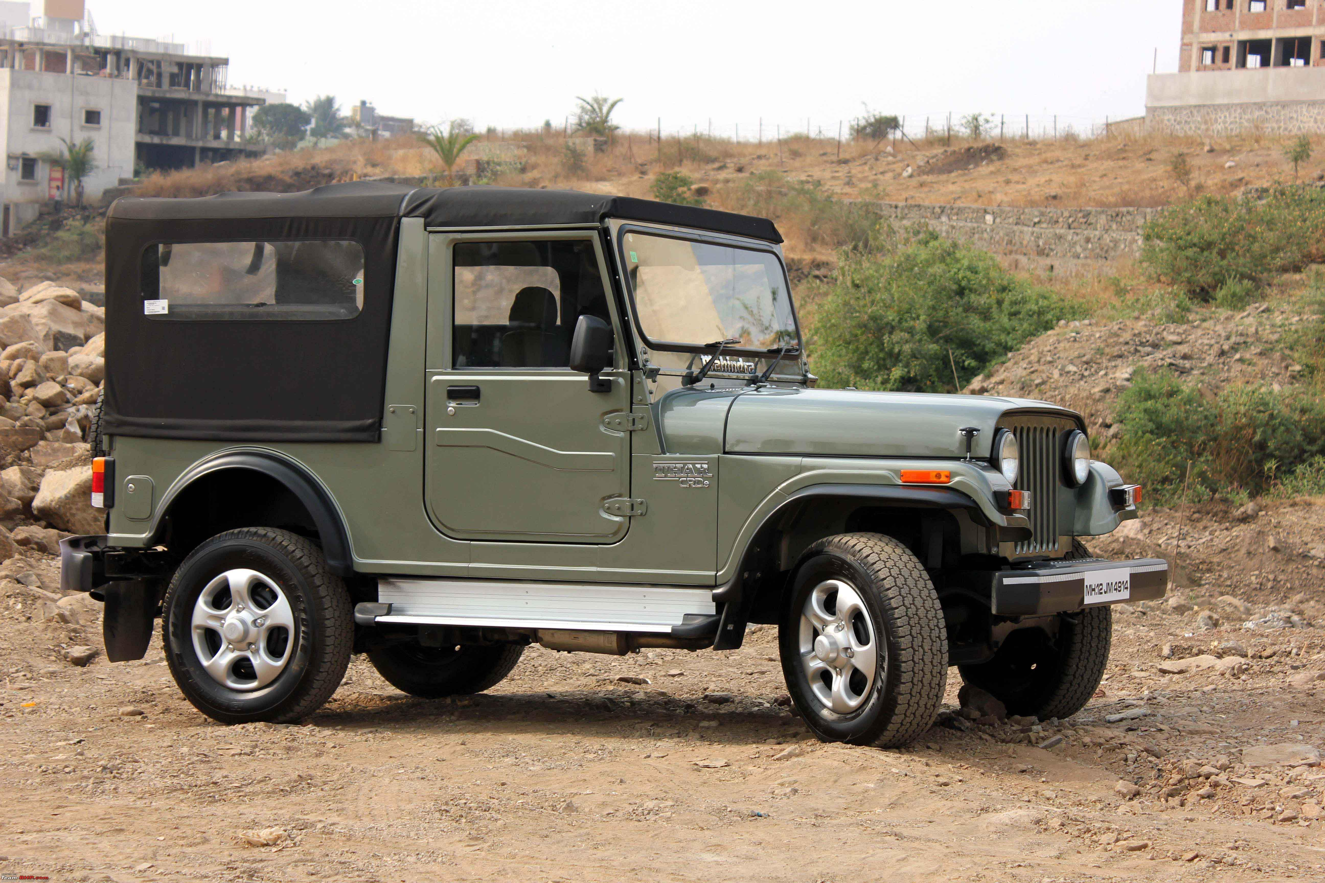 Live Young Live Free My Mahindra Thar Crde 4wd Team Bhp
