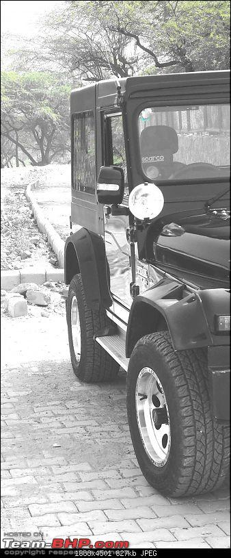 Never thought I'd buy a Mahindra Thar! My Jeep Story. EDIT: Now sold-fender-flare-1.jpg