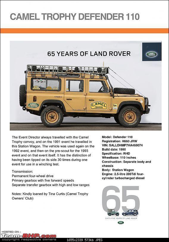 Land Rover History - Vehicles at 65th Anniversary Celebration.-camel-trophy-defender-11011.jpeg