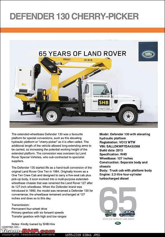 Land Rover History - Vehicles at 65th Anniversary Celebration.-defender-130-cherrypicker2.jpeg
