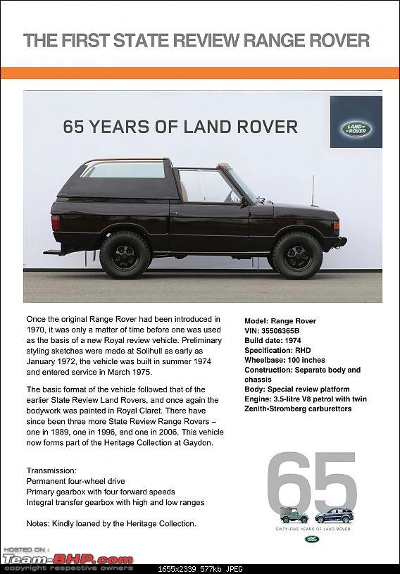 Land Rover History - Vehicles at 65th Anniversary Celebration.-first-state-review-range-rover3.jpeg