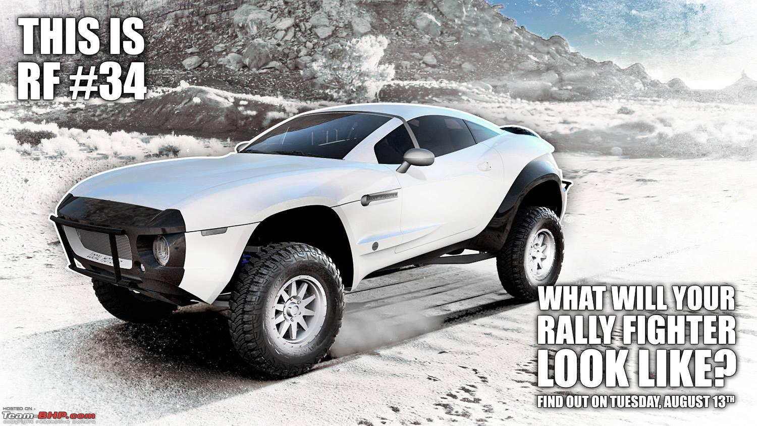 Local Motors Rally Fighter >> Rally Fighter: A Custom 4x4 from USA - Team-BHP