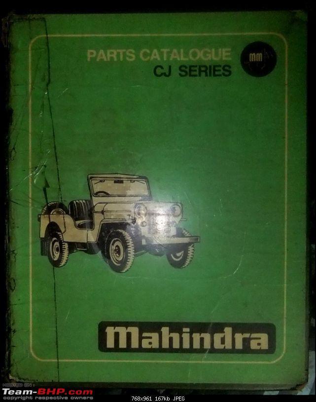 My Jeep Bride - Mahindra Willys Petrol CJ4A ( CJ3B sibling ) - Ground up restoration-dscf2022.jpg