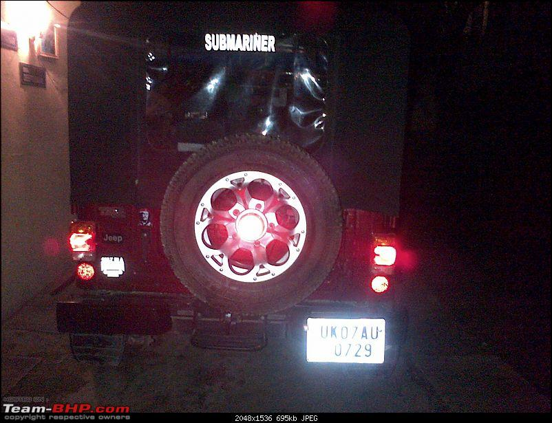 My li'l Red Mahindra Thar with some practical modifications-img2013101500579.jpg