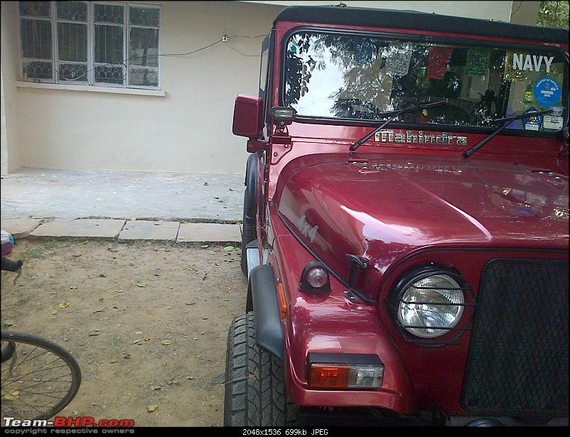 My li'l Red Mahindra Thar with some practical modifications-img2013112700701.jpg