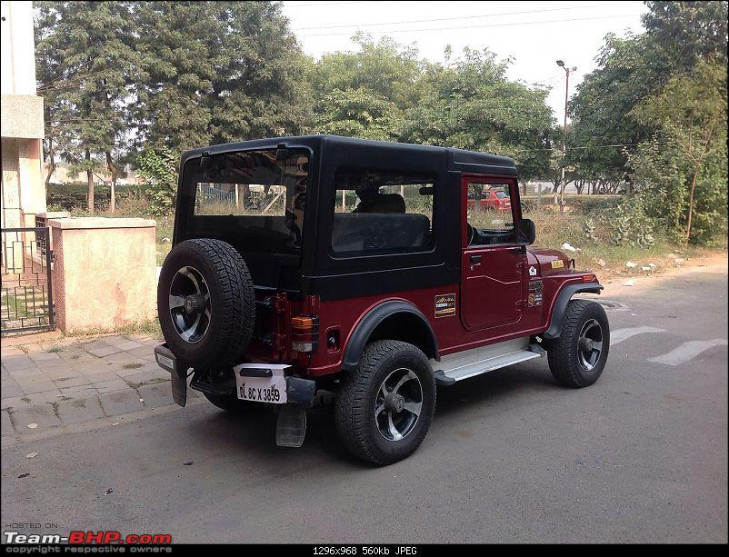 The most practical & best looking Hardtop - Mahindra Thar-rear-ht.jpg